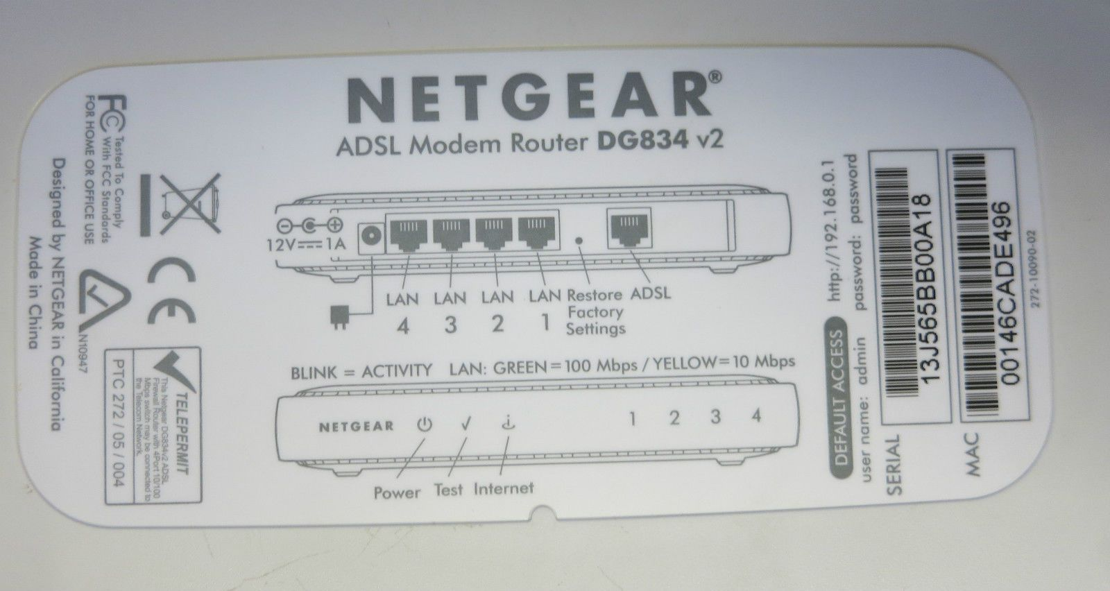 netgear dg834 v2 wired adsl firewall router with 4 port 10 100 mbps switch [3] 38060 p netgear dg834 v2 wired adsl firewall router with 4 port 10 100  at n-0.co